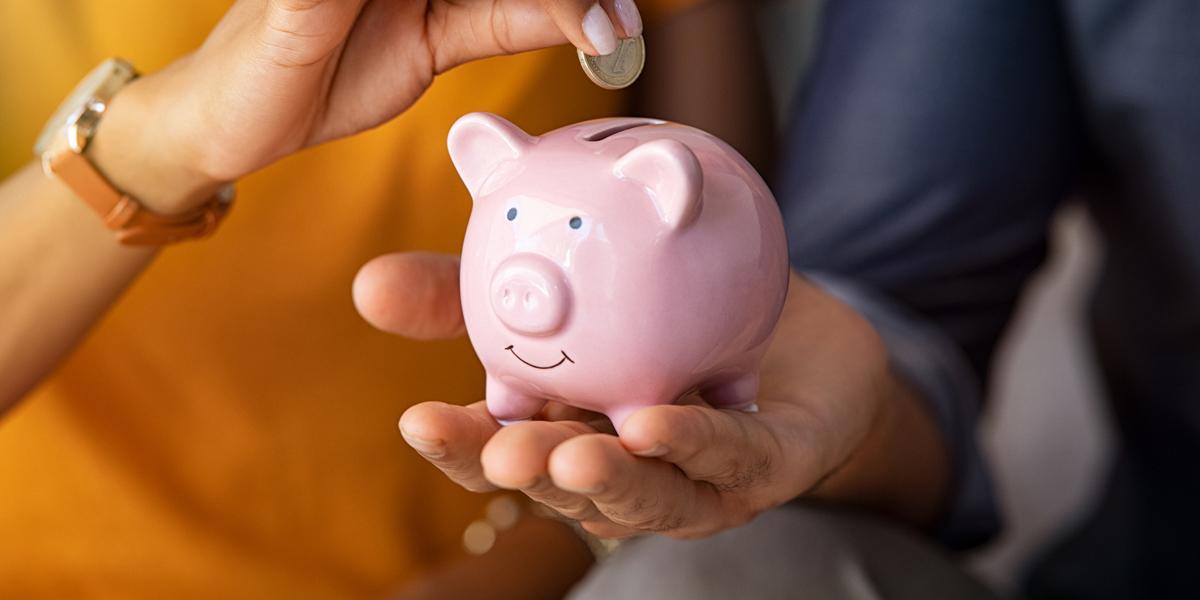 Savings Account Piggy Bank