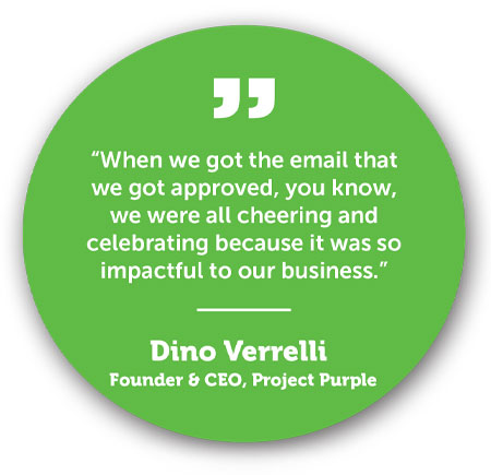 Dino Verrelli Testimonial