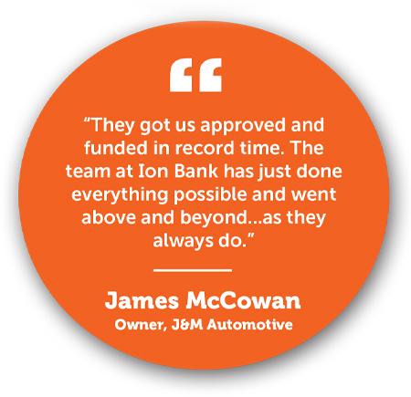 James McCowan Testimonial