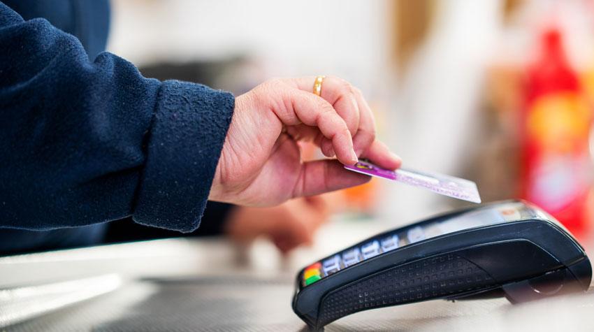 using contactless debit card